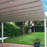 Zerro Retractable Roof in Green Backyard